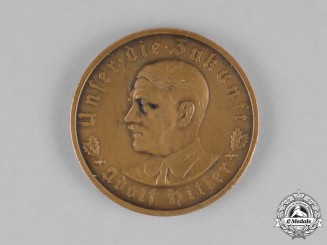 Germany. A 1933 A.H. Schicksalswende (Twist of Fate) Medal by the Official Mint of Bavaria