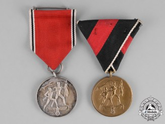 Germany. A Grouping of Two Annexation Medals