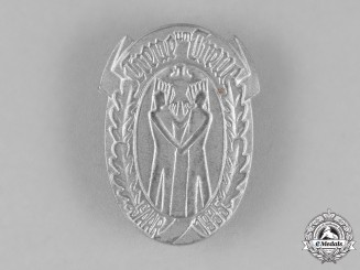 "Germany, Third Reich. A 1935 ""Loyal and True"" Event Badge"