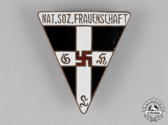 Germany. A National Socialist Women's League Membership Badge