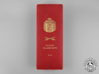 Bulgaria, Kingdom. An Order of St. Alexander, 2nd Class Grand Officer Case