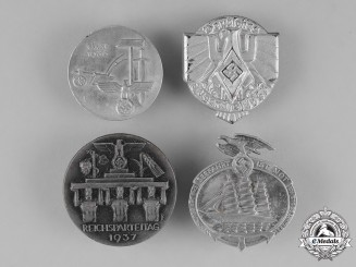 Germany. A Grouping of Four Badges