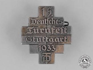 Germany. A 1933 DRL Gymnastics Festival in Stuttgart Badge