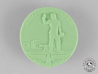 Germany. A 1939 NSDAP Oberdonau District Council Day Badge