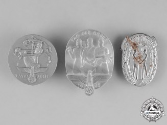 Germany. A Grouping of Three Badges