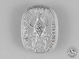 Germany. A 1935 HJ Festival of German Youth Badge