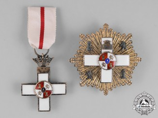 Spain, Franco Era. An Order of Military Merit with White Distinction, 3rd Class