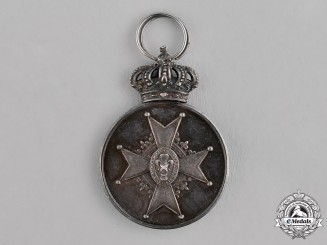 Sweden, Kingdom.  An Order of Vasa, Silver Grade Medal