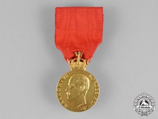 (Norway, Kingdom). A Royal House of Recompense, 1st Class Gold Grade Medal