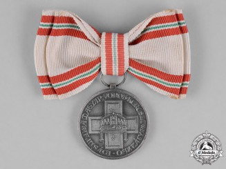 Hungary, Kingdom. A Red Cross Decoration, Silver Grade Medal for Youth, c.1930