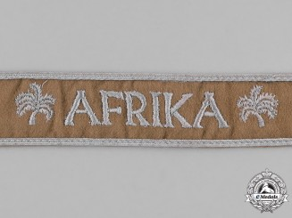 Germany. An Africa Campaign Cuff Title; Uniform Removed