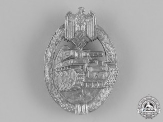 Germany, Wehrmacht. A Tank Assault Badge, Silver Grade