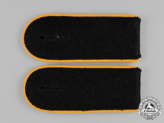 Germany, SS. A Mint Pair of Cavalry Enlisted Man's Shoulder Boards