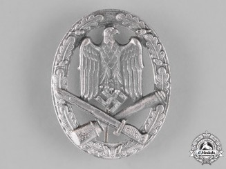 Germany, Wehrmacht. A General Assault Badge