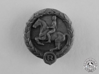 Germany. A Youth Horseman's Badge