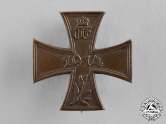 Saxony-Coburg/Gotha. A Commemorative War Cross