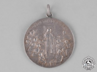 Germany, Empire. A Helvetia Benigna Medal to Swiss POW Aids