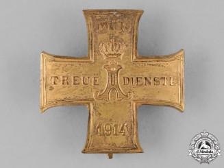 Schaumburg-Lippe. A 1914 Cross for Loyal Service, First Class