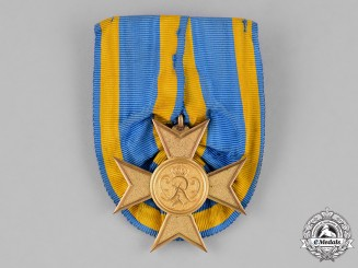 Prussia, State. A War Merit Cross, Gold Grade, Mounted