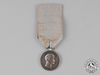 Mecklenburg-Schwerin. A Silver Merit Medal to Civilians