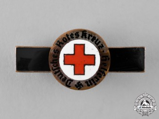 Germany. A German Red Cross Nurses Aid Badge