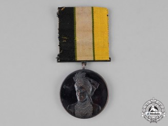 India, Bahawalpur. An Installation Medal 1924, 2nd Class