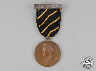 India, Bahawalpur. A Golden Jubilee Medal 1907-1956, 2nd Class