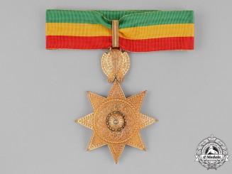 Ethiopia, Empire. An Order of the Star of Ethiopia, II Class Commander, by Sevadjian