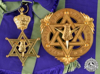 Ethiopia, Empire. An Order of Queen of Sheba, Grand Cross
