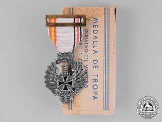Spain, Franco's Period. A Medal for Russian Campaign c.1943