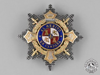 Spain, Civil War Period. A War Cross Breast Star c.1938