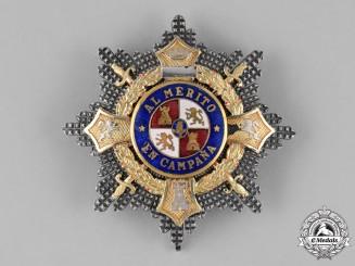 Spain, Civil War Period. A War Cross Breast Star c.1938