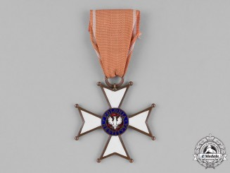 Poland, Republic. An Order of Polonia Restituta, Officer, c.1944