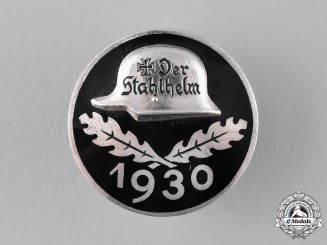 "Germany, Weimar Republic. A 1930 ""Der Stahlhelm"" Badge"
