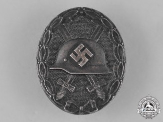 Germany. A Silver Grade Wound Badge