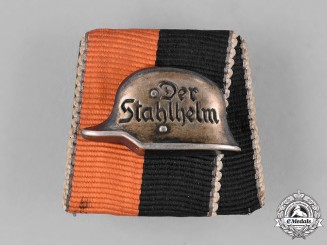 "Germany. A ""Der Stahlhelm"" Medal Bar"