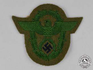 Germany. A Municipal Police Sleeve Eagle