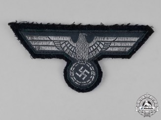 Germany. A Wehrmacht Panzer NCO's Breast Eagle