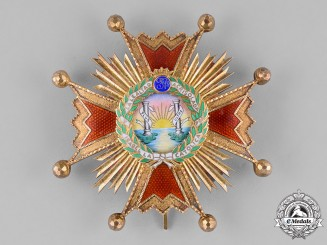 Spain, Franco's Period. An Order of Isabella the Catholic, Commander, c.1955
