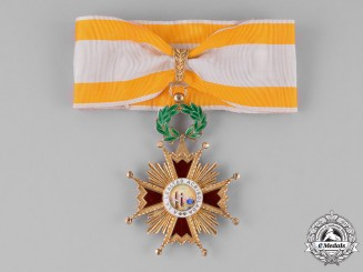 Spain, Franco's Period. An Order of Isabella the Catholic, Commander c.1955