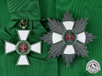 Hungary, Kingdom. An Order of Merit, 1st Class Grand Cross, c.1935