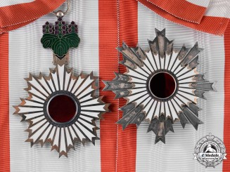 Japan. Order of the Rising Sun, 1st Class Grand Cross, c.1900