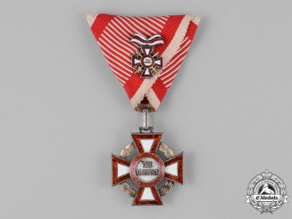 Austria, Empire. A Military Merit Cross, 3rd Class with Small Decoration