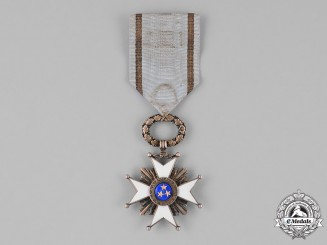 Latvia. An Order of the Three Stars, 5th Class, Knight