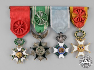 France, Republic. A Fine Officer's Group of Four