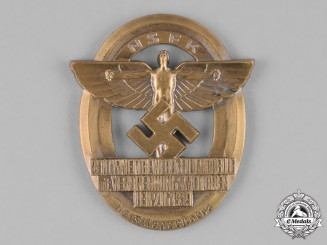 Germany, NSFK. A 1939 National Socialist Flying Corps Motorized Model Flying Medal