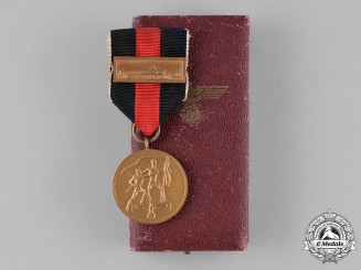 Germany. A Cased Entry into the Sudetenland Commemorative Medal, with Prague Medal Bar