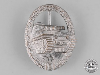 Germany, Federal Republic. A Tank Assault Badge, Alternative 1957 Version