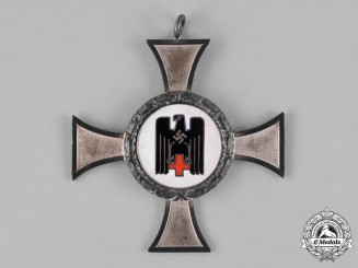 Germany. A German Red Cross Sister's Cross, Silver Grade for 10 Years of Service
