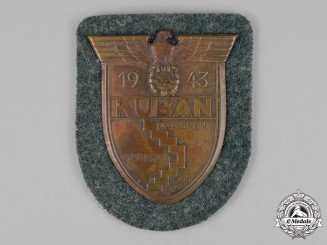 Germany. A Wehrmacht Heer (Army) Issue Kuban Sleeve Shield